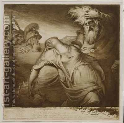 King Lear and Cordelia by James Barry - Reproduction Oil Painting