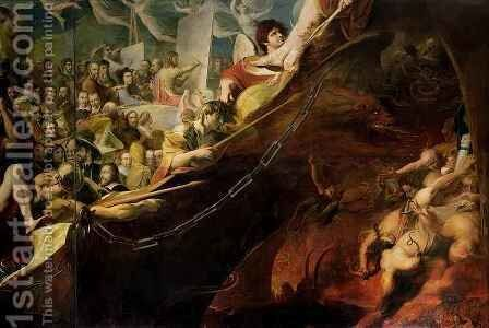 Elysium, or the State of Final Retribution by James Barry - Reproduction Oil Painting