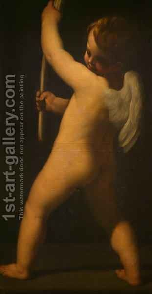 Playful Cherub by James Barry - Reproduction Oil Painting