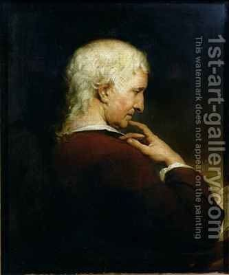 Portrait of Christopher Nugent M.D. (1715-75) by James Barry - Reproduction Oil Painting
