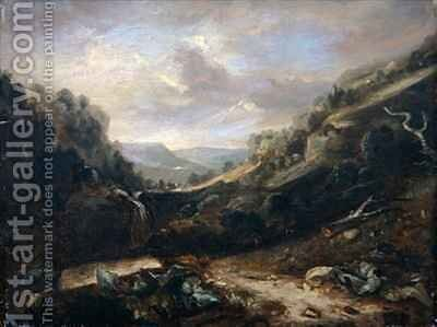 West Country Landscape by Benjamin Barker - Reproduction Oil Painting