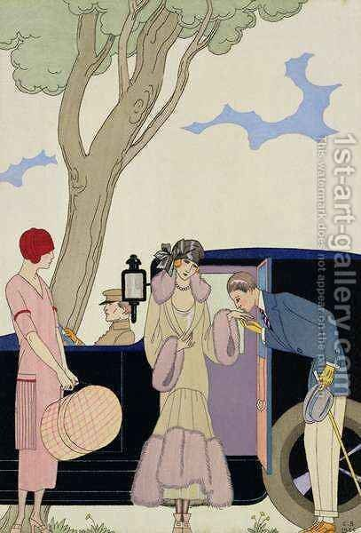 Envy by (after) Barbier, Georges - Reproduction Oil Painting