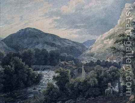 Lynmouth, Devon by Charles Vincent Barber - Reproduction Oil Painting