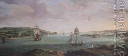 Mount Edgcumbe by Banfield - Reproduction Oil Painting