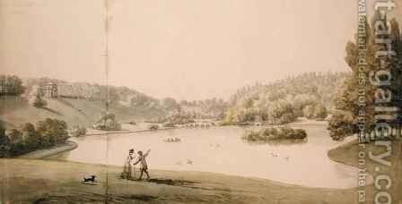Stourhead 2 by Coplestone Warre Bampfylde - Reproduction Oil Painting