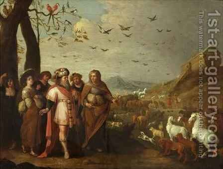 Noah and the Ark by Jan van Balen - Reproduction Oil Painting