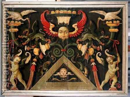 Grotesques 2 by Matteo di Giuliano di Lorenzo Balducci - Reproduction Oil Painting