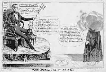 Whig appeal for an excuse by James Baillie - Reproduction Oil Painting