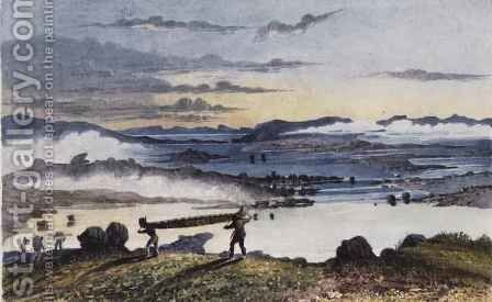Barren Lands - Morning by Sir George Back - Reproduction Oil Painting