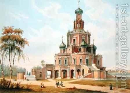 The Protection of the Virgin Church in Moscow by Charles Claude Bachelier - Reproduction Oil Painting