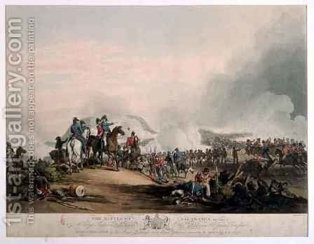 Battle of Salamanca by (after) Atkinson, John Augustus - Reproduction Oil Painting