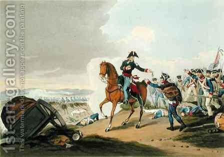 The Prince of Orange at the Battle of Waterloo by (after) Atkinson, John Augustus - Reproduction Oil Painting