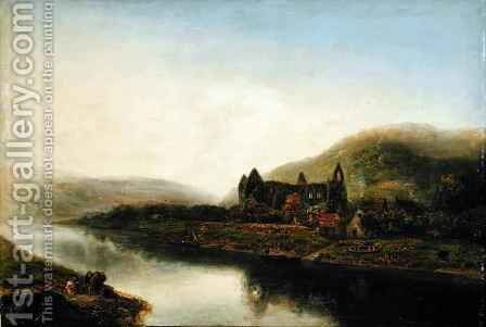 Tintern Abbey by Henry Mark Anthony - Reproduction Oil Painting