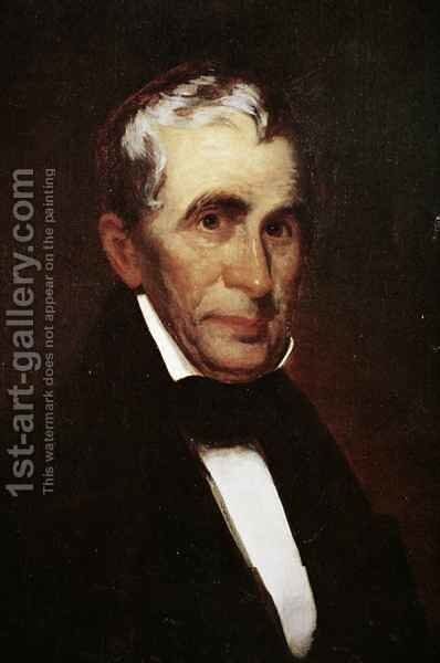 William Henry Harrison (1773-1841) by Eliphalet Andrews - Reproduction Oil Painting