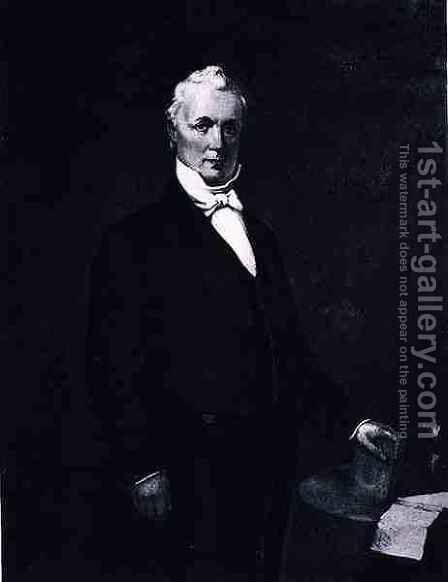James Buchanan by (after) Andrews, Eliphalet Frazer - Reproduction Oil Painting