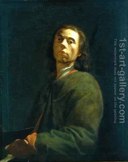 Self Portrait by Dietrich Ernst Andreae - Reproduction Oil Painting