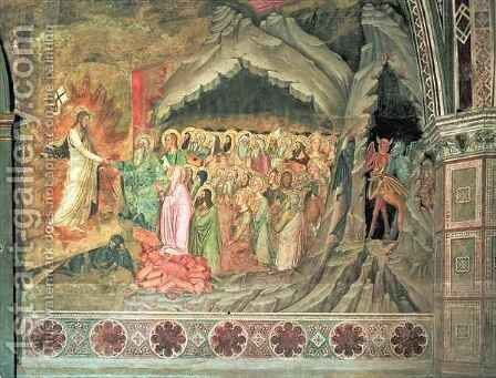 The Descent into Limbo, from the Spanish Chapel 2 by Bonaiuto (Andrea da Firenze) Andrea di - Reproduction Oil Painting