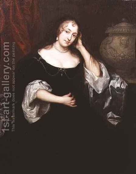 Portrait of a lady by Henry Anderton - Reproduction Oil Painting