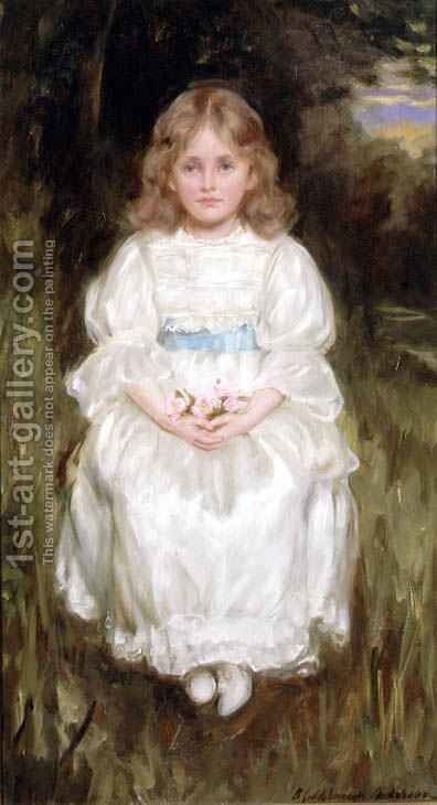 All in White by Charles Goldsborough Anderson - Reproduction Oil Painting