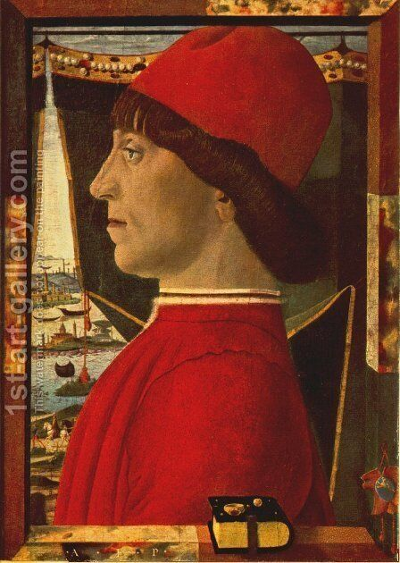 Portrait Of A Young Man by Baldassare Estense - Reproduction Oil Painting