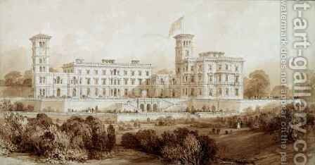 Osborne House, Isle of Wight by Allote - Reproduction Oil Painting