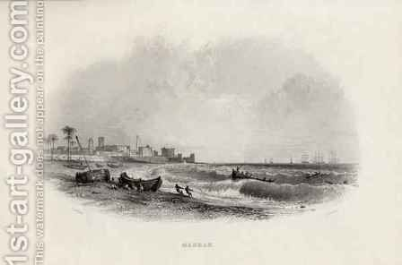 Madras, India by (after) Thomas Allom - Reproduction Oil Painting
