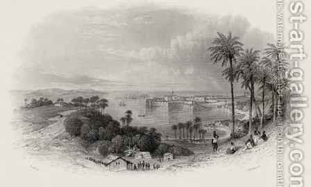 Bombay India by (after) Thomas Allom - Reproduction Oil Painting