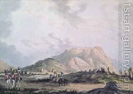The Fort of Nandidong during the third Mysore War by Sir Alexander Allan - Reproduction Oil Painting