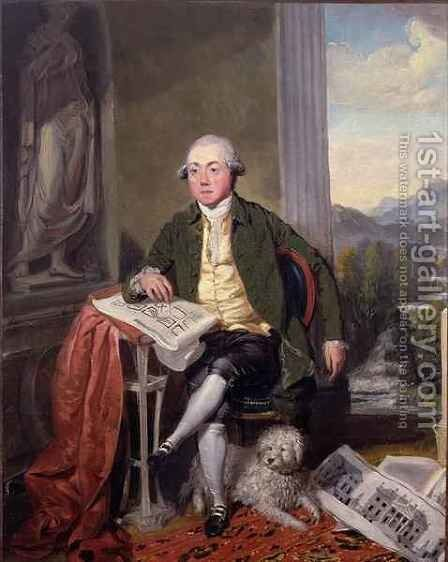 James Craig by Sir Alexander Allan - Reproduction Oil Painting