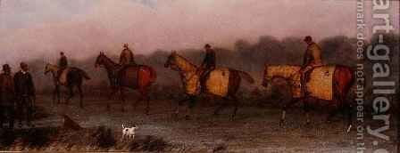 Out Exercising by Henry Thomas Alken - Reproduction Oil Painting