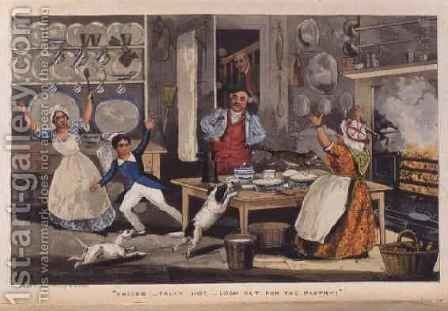Yoicks... Tally Ho...Look out for the Pastry, from Nimrod's 'The Life of a Sportsman' by Henry Thomas Alken - Reproduction Oil Painting