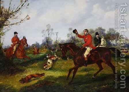 The Find by Henry Thomas Alken - Reproduction Oil Painting