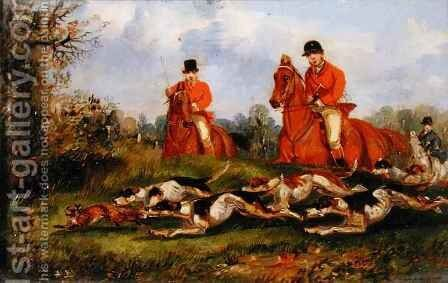 The Kill 6 by Henry Thomas Alken - Reproduction Oil Painting