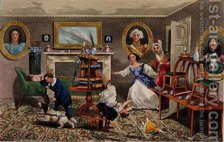 The First Step to the Coach-Box by Henry Thomas Alken - Reproduction Oil Painting