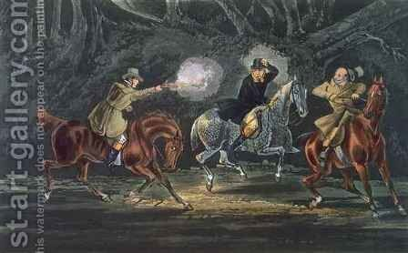 Stand and Deliver by (after) Henry Alken - Reproduction Oil Painting