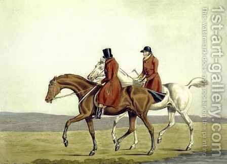 Going Home, Meltonians as They Were by (after) Henry Alken - Reproduction Oil Painting