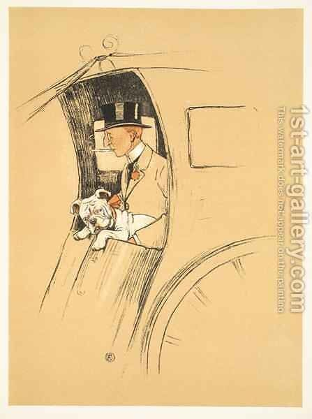 The Extra Passenger, From 'A Gay Dog, Story of a Foolish Year' by Cecil Charles Aldin - Reproduction Oil Painting