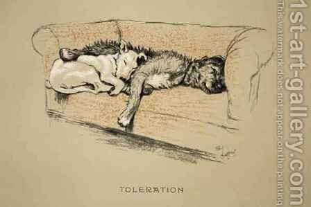 Toleration by Cecil Charles Aldin - Reproduction Oil Painting