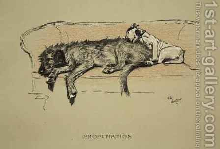 Propitation by Cecil Charles Aldin - Reproduction Oil Painting
