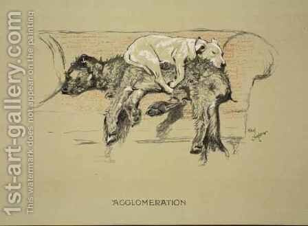 Agglomeration by Cecil Charles Aldin - Reproduction Oil Painting