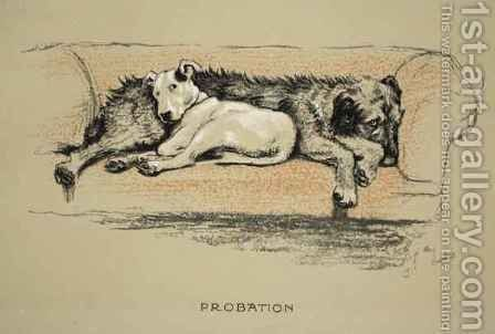 Probation by Cecil Charles Aldin - Reproduction Oil Painting