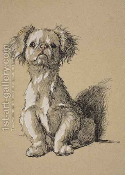 Peke by Cecil Charles Aldin - Reproduction Oil Painting