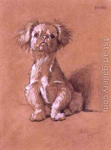 Bimbo by Cecil Charles Aldin - Reproduction Oil Painting