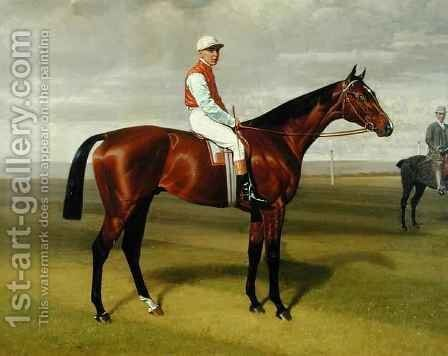 'Isinglass', Winner of the 1893 Derby by Emil Adam - Reproduction Oil Painting