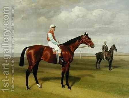 'Isinglass', Winner of the 1893 Derby 2 by Emil Adam - Reproduction Oil Painting