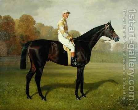 'Ladas', Winner of the 1894 Derby 2 by Emil Adam - Reproduction Oil Painting