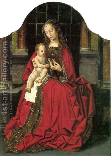 Madonna with Child by Ambrosius Benson - Reproduction Oil Painting