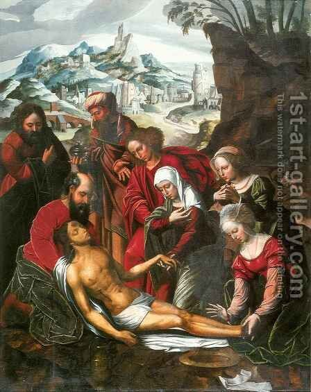 Lamentation of Christ by Ambrosius Benson - Reproduction Oil Painting