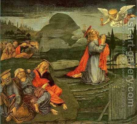 Agony in the Garden by Benvenuto di Giovanni - Reproduction Oil Painting