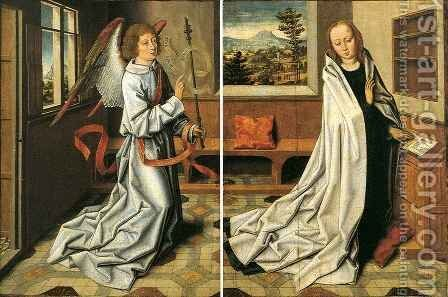 Annunciation of the Virgin by Aelbrecht Bouts - Reproduction Oil Painting